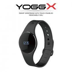 Portronics POR-666 Yogg X - A Slim & Smart Fitness Tracker with Detachable & Touch Sensitive Screen