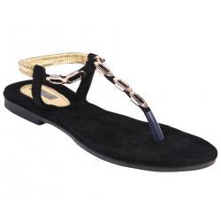 Azores Women's Black Footwear AZF 13B 36
