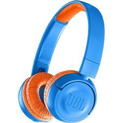 JBL JR300 Kids Wireless On-Ear Headphones (Blue/Orange)