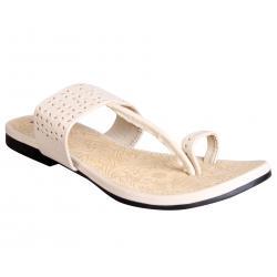 Azores Women's Cream Footwear AZF 32C 36