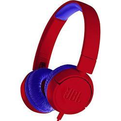 JBL JR300 Kids On-Ear Headphones (Spider Red)