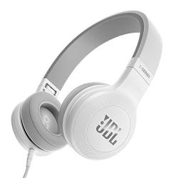 JBL E35 Signature Sound On-Ear Headphones with Mic (White)