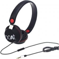 boAt BassHeads 500 Wired Headset With Mic (Black)