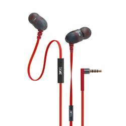 Boat Bass Heads 180 in-Ear Headphones with Mic (Red)