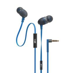 boAt BassHeads 180 In-Ear Headphones with Mic (Blue)