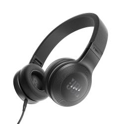 JBL E35 Signature Sound On-Ear Headphones with Mic (Black)