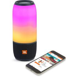 JBL Pulse 3 Wireless Portable Speaker with 360 0 Lightshow (Black)