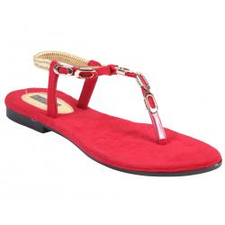 Azores Women's Red Footwear AZF 13R 36