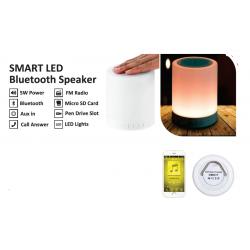 Zeno Smart Led BT Speaker