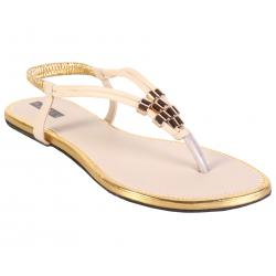 Azores Women's Cream Footwear AZF 20C 36