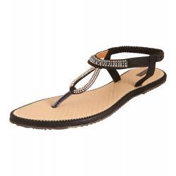 Azores Women's Black Footwear AZF 38B 36